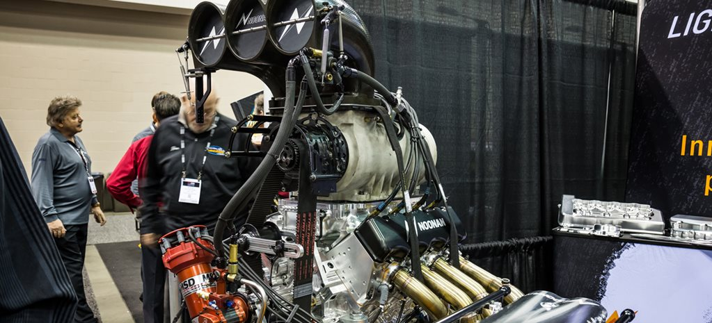 NOONAN RACING DEBUTS REVOLUTIONARY HEMI AND LS ENGINES AT THE PRI SHOW – VIDEO