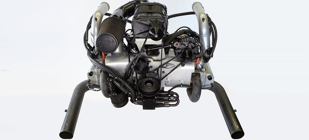 BLOWN 2 8L AUTOCRAFT VW FLAT-FOUR ENGINE