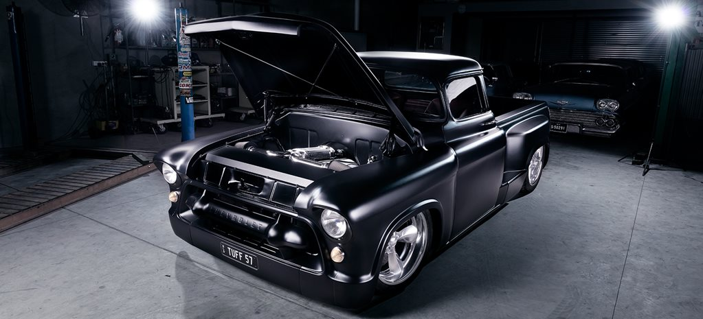 BLOWN 1957 CHEVROLET PICK-UP