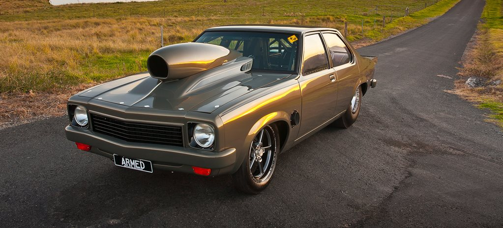 632-CUBE 1270HP NITROUS-POWERED 1975 HOLDEN TORANA LH - ARMED