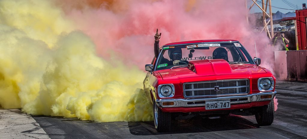 SUMMERNATS 30 FRIDAY BURNOUT COMPETITION - VIDEO