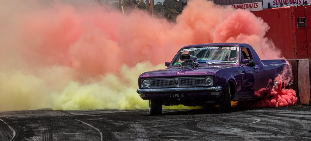 SUMMERNATS 30 BURNOUT MASTERS QUALIFYING VIDEO