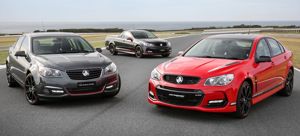 HOLDEN COMMODORE DIRECTOR, MOTORSPORT AND MAGNUM EDITIONS ANNOUNCED