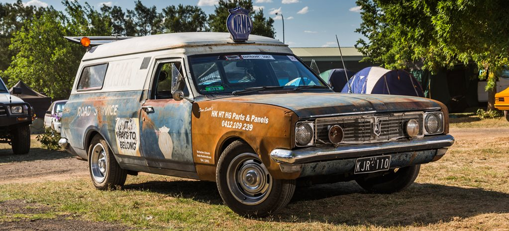 HT HOLDEN NRMA SURVIVOR VAN AT SUMMERNATS 30