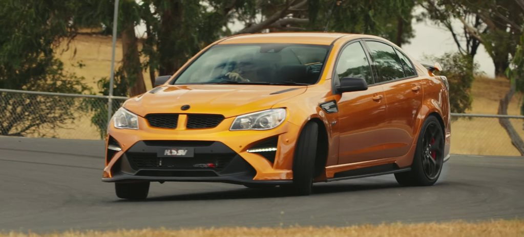 HSV GTS-R W1 IN ACTION ON TRACK – VIDEO
