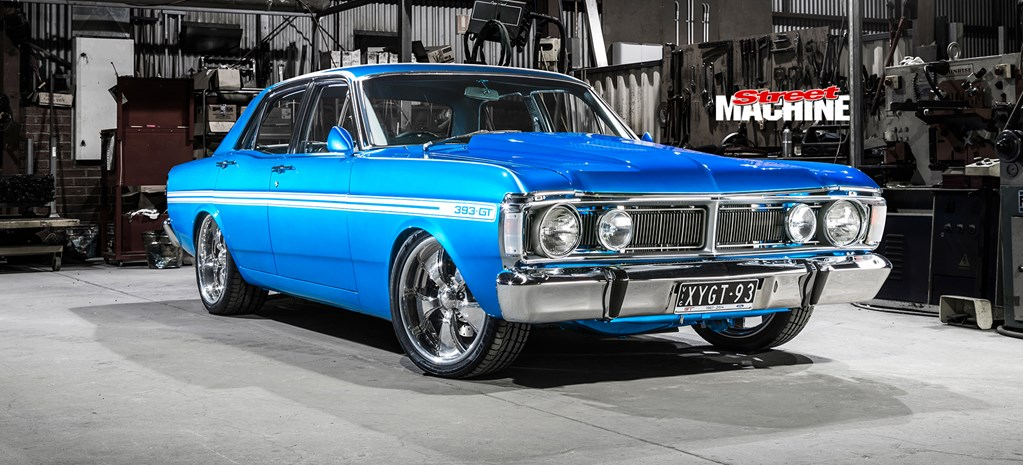 393 CLEVELAND-POWERED 1971 FORD XY FALCON STREETER