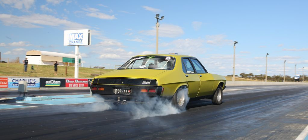 HARRY'S TURBO BIG-BLOCK HQ HOLDEN AT DRAG CHALLENGE - FULL STORY