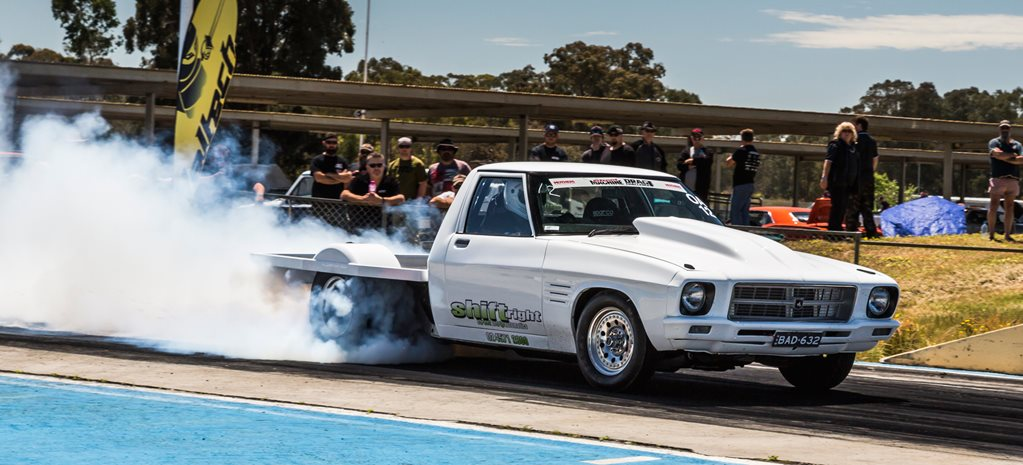 632CI BIG-BLOCK HQ HOLDEN ONE-TONNER AT DRAG CHALLENGE 2016