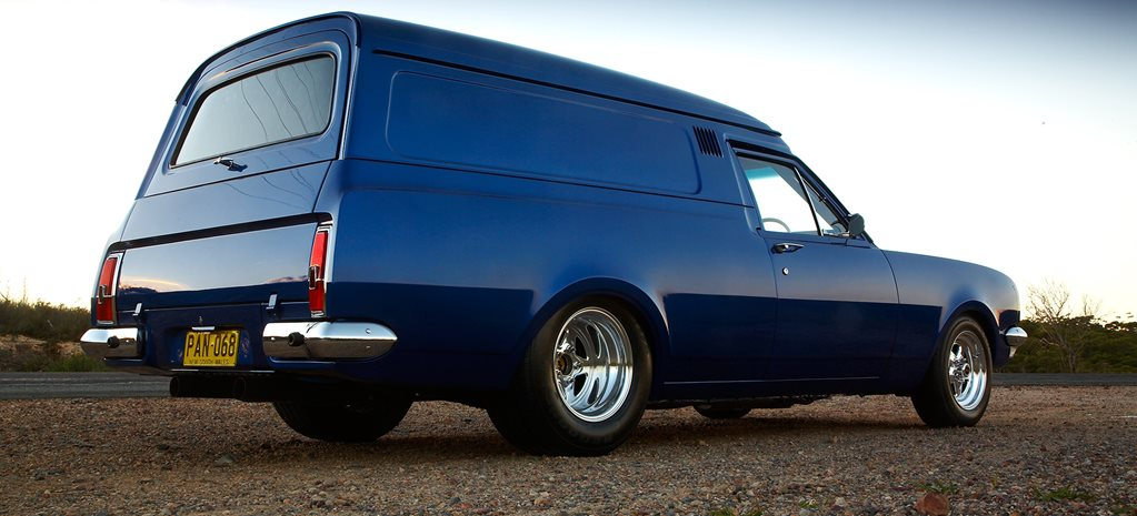 1968 HK HOLDEN BELMONT PANEL VAN