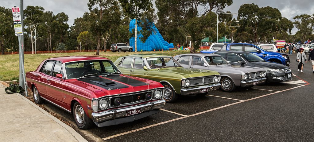 TOP 12 CARS FROM GEELONG ALL FORD DAY