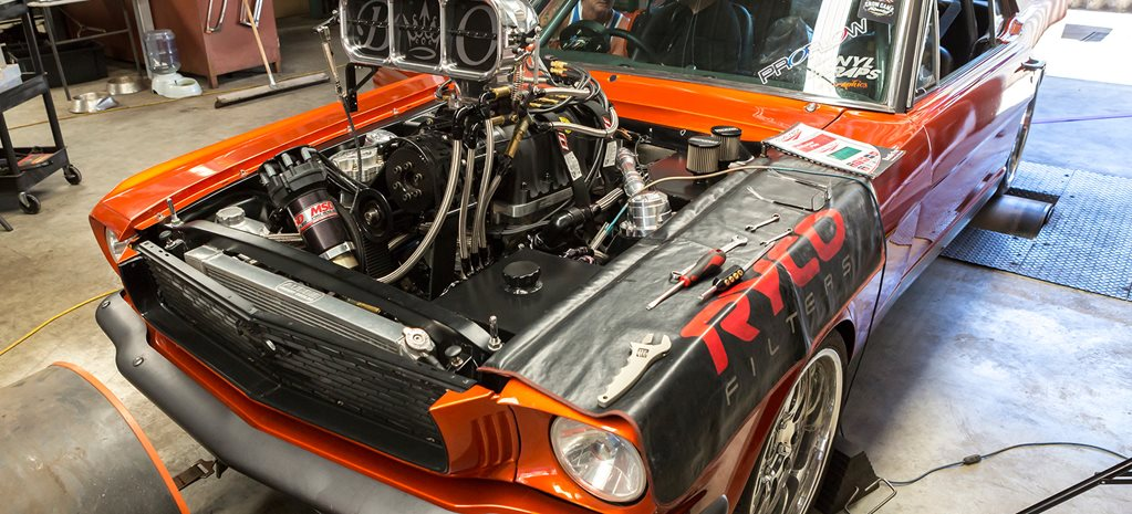 S1CKO MUSTANG ON THE DYNO AT BLOWN MOTORSPORTS – VIDEO