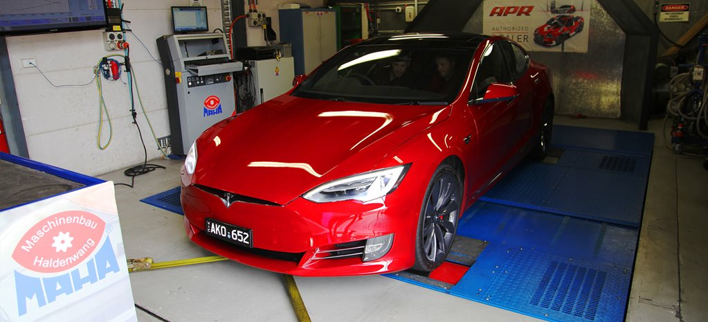 TESLA MODEL S P100D ON THE DYNO – VIDEO