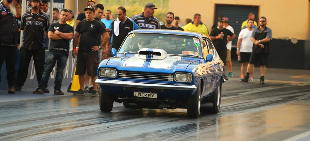 TRICKY'S 440CI FORD CAPRI AT POWERCRUISE 66 - VIDEO