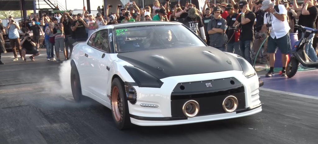WORLD'S FIRST SIX-SECOND NISSAN GT-R – VIDEO