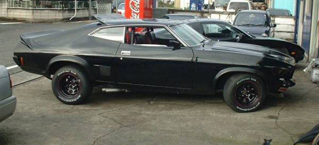 1974 Mad Max XB Falcon side outside