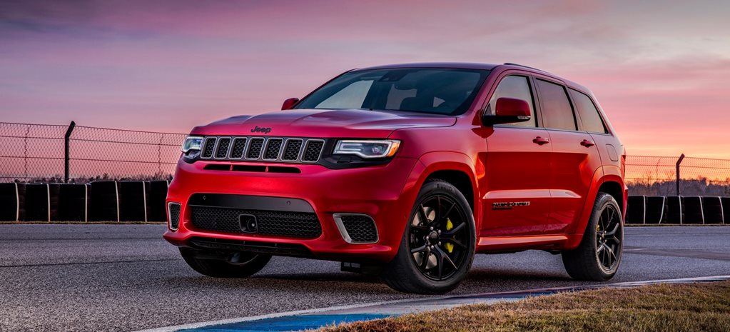 2018 Jeep Grand Cherokee Trackhawk wide
