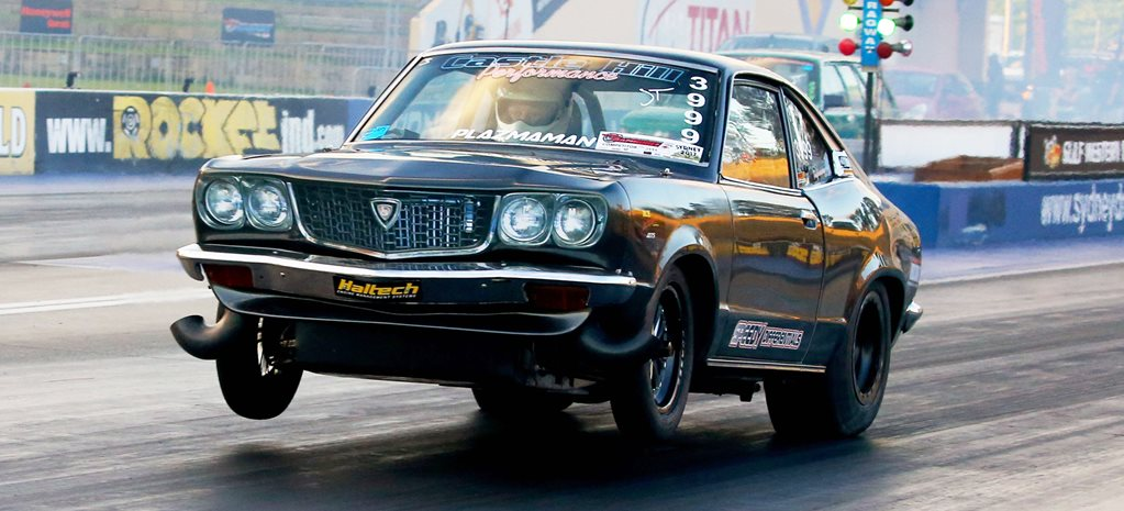 Mazda RX 3 twin turbo LS wide