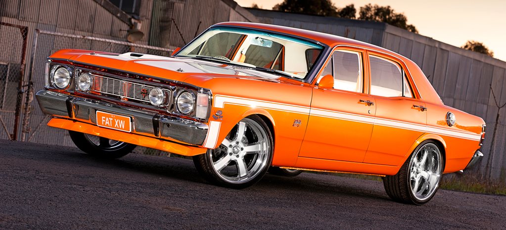 Ford Falcon XW wide