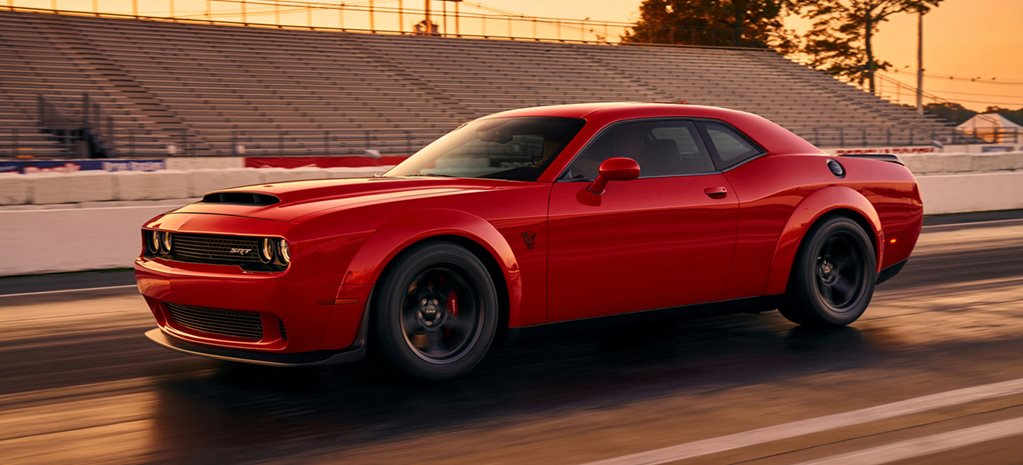Dodge Challenger Demon wide