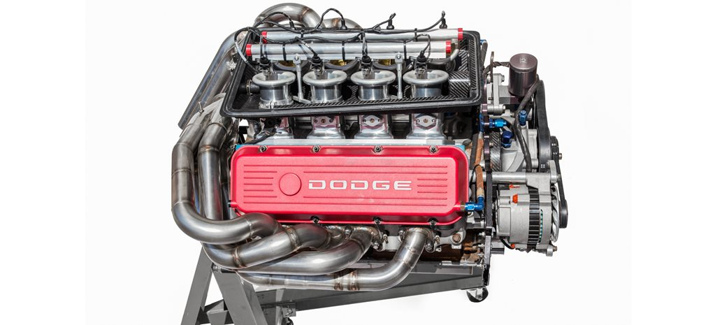 Nascar V8 Dodge 358ci wide