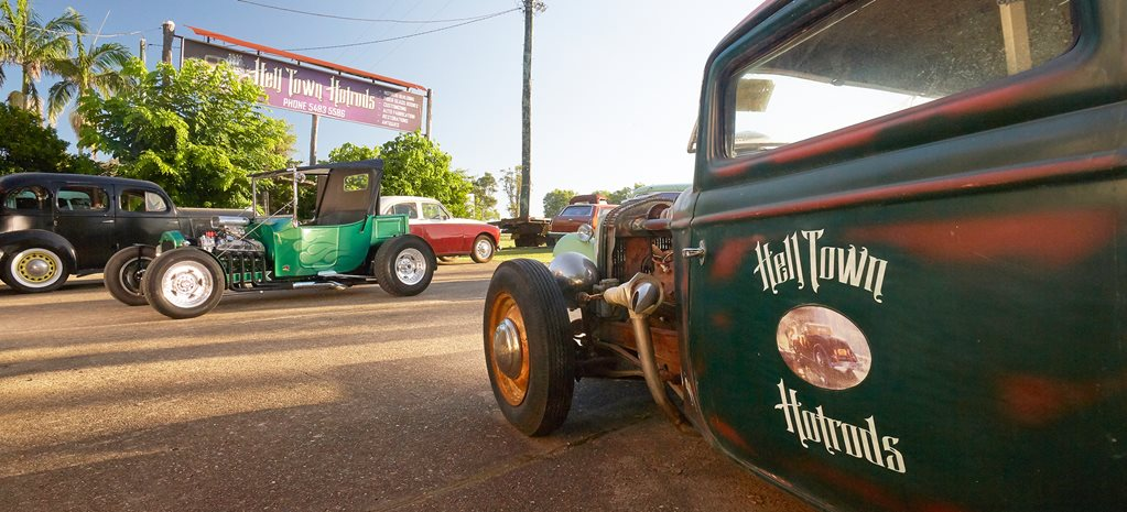Hell town hot rods wide