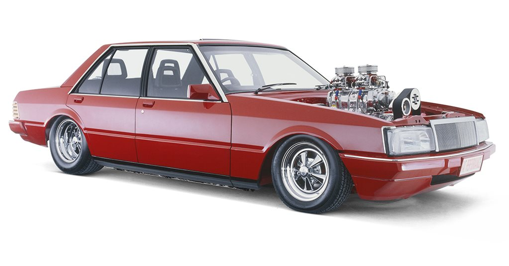 BLOWN 351 CLEVELAND-POWERED 1980 FORD XD FALCON - RED RAT