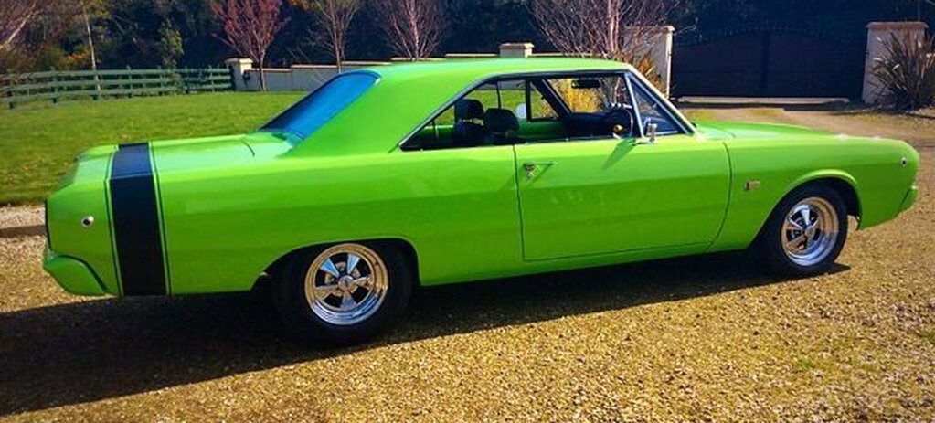 FORD 302-POWERED VF VALIANT HARDTOP FOR SALE IN THE UK
