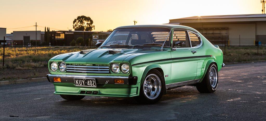 TIME-CAPSULE TWIN-TURBO 1970 FORD CAPRI GT 3000