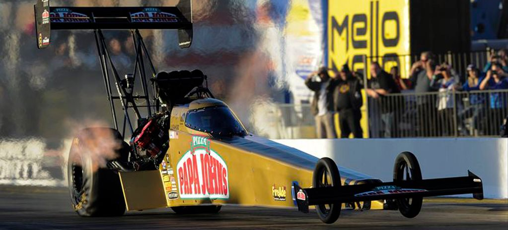 Leah Pritchett Top Fuel record wide