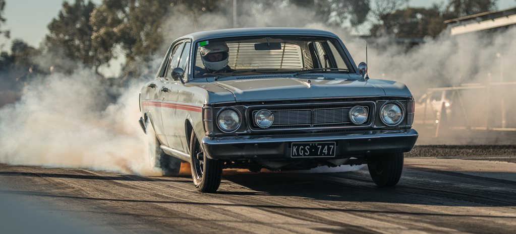 Ford XW Falcon Barra wide