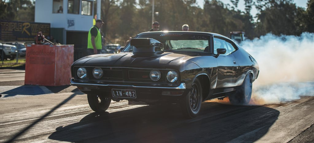 Ford XB Falcon coupe wide