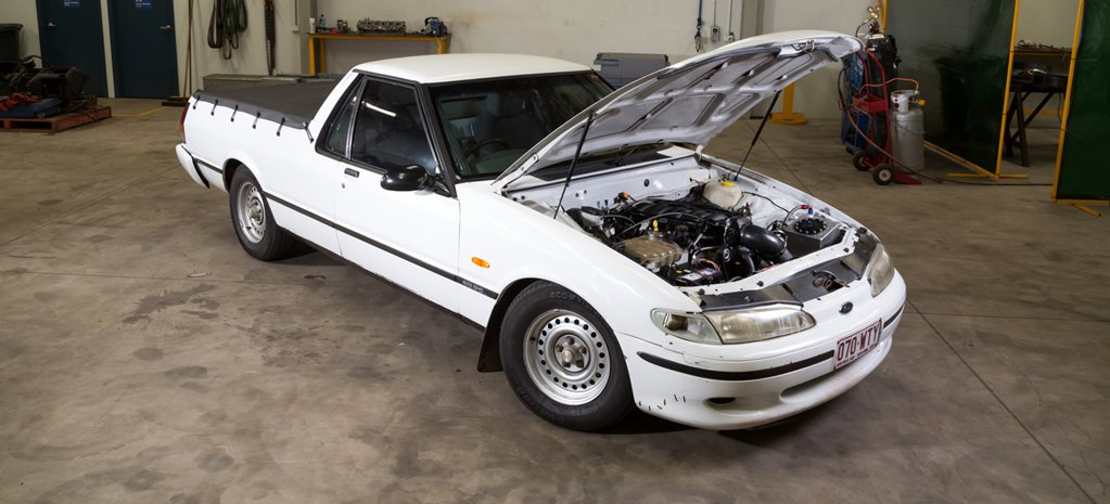Falcon ute LS1 twin turbo wide
