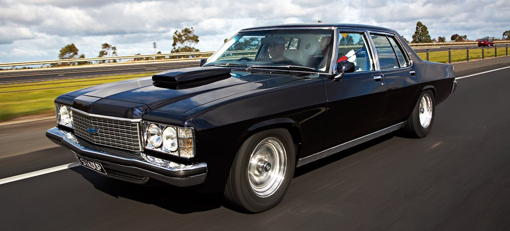 FUEL-INJECTED 454-CUBE 1976 HOLDEN HJ STATESMAN DE VILLE