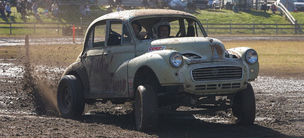 Morris Minor The Mud Run