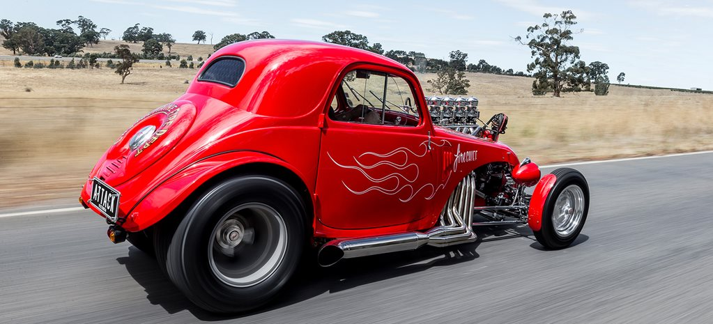 Rod Hadfield Fiat Topolino Hot Rod