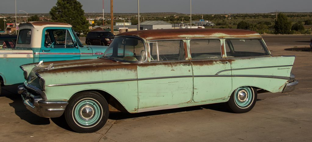 1957 chev wagon route 66