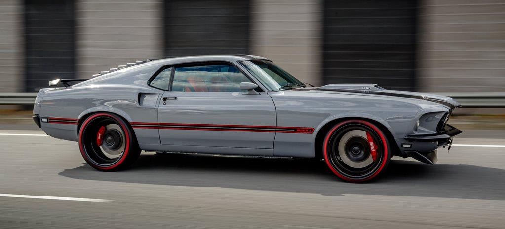 69 Mustang Mach 1 pro touring wide