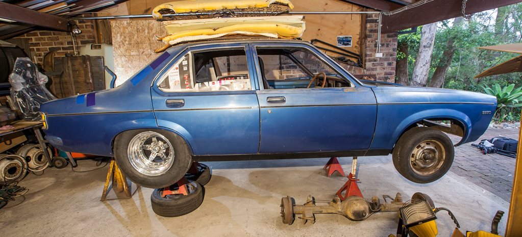 LX Torana build Chev wide