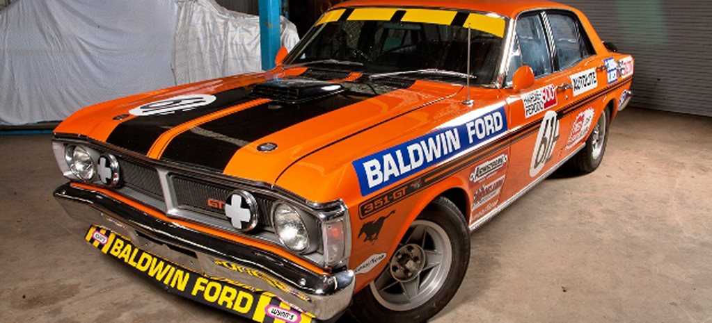 Ford XY Falcon GTHO Phase3 race car wide