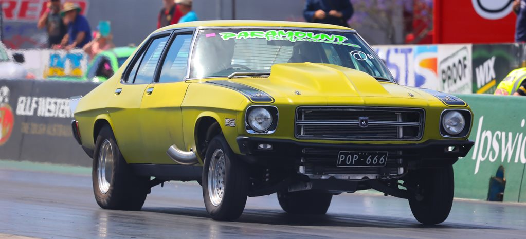 HQ Holden POP666 twin turbo big block wide