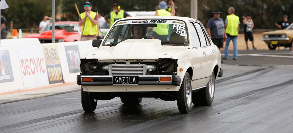 Holden Gemini twin turbo V6 wide