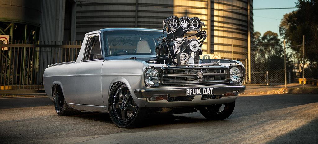 BLOWN AND INJECTED LS2-POWERED 1973 DATSUN 1200 UTE