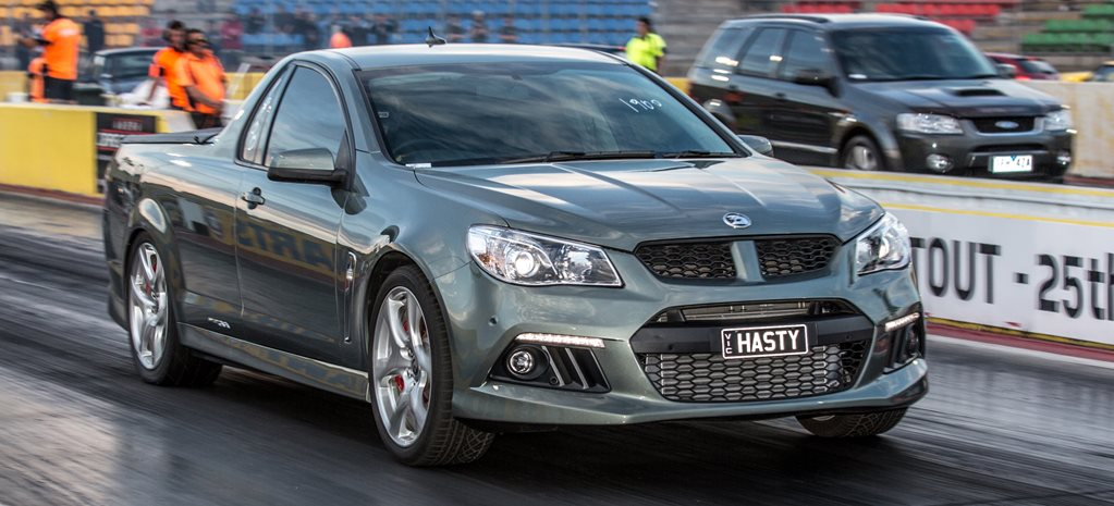 HSV Gen F Maloo supercharged wide