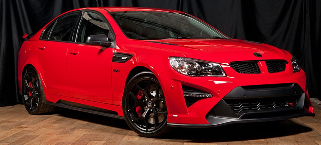 HSV GTS R W1 auction wide