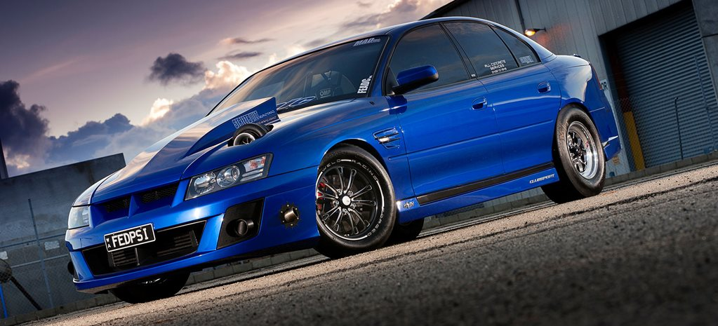 1000RWHP TURBO LS-POWERED HSV VZ CLUBSPORT
