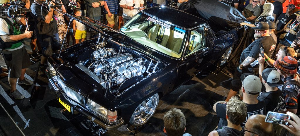 HQ Holden ute twin turbo LS3 wide