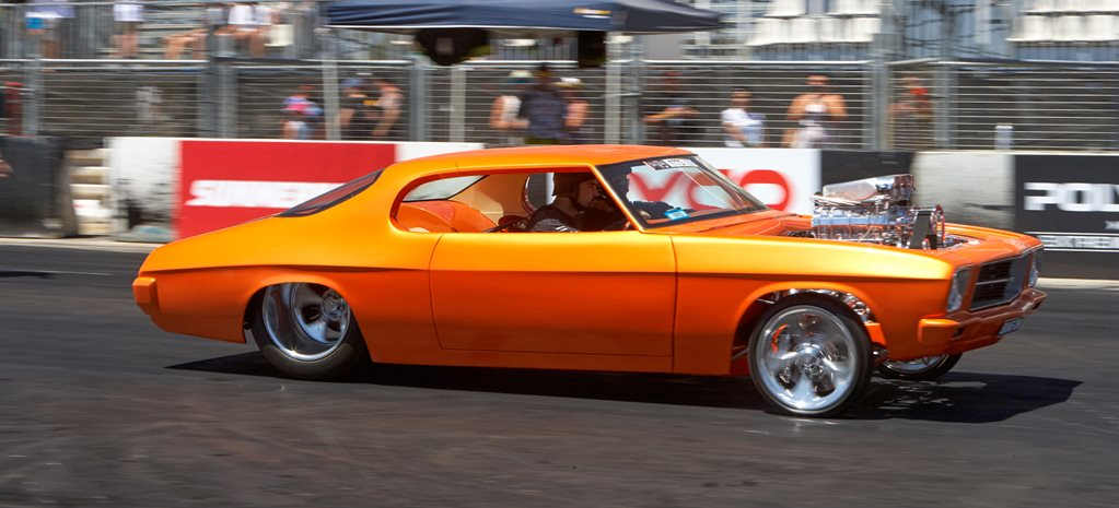HQ Monaro custom blown wide