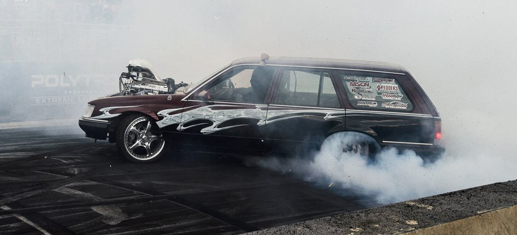 VK wagon burnout TUFFST wide