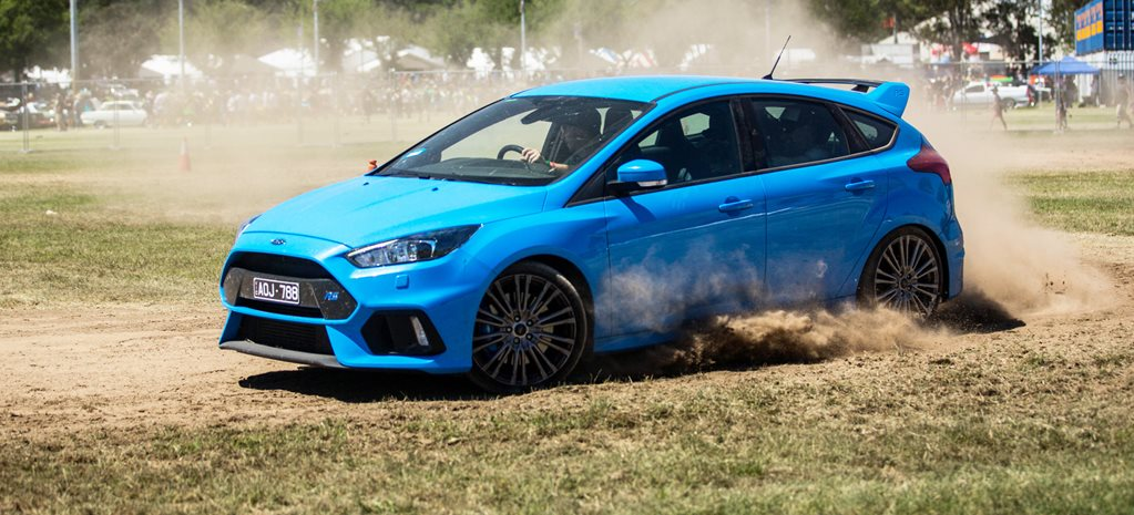Ford Focus RS motorkhana wide
