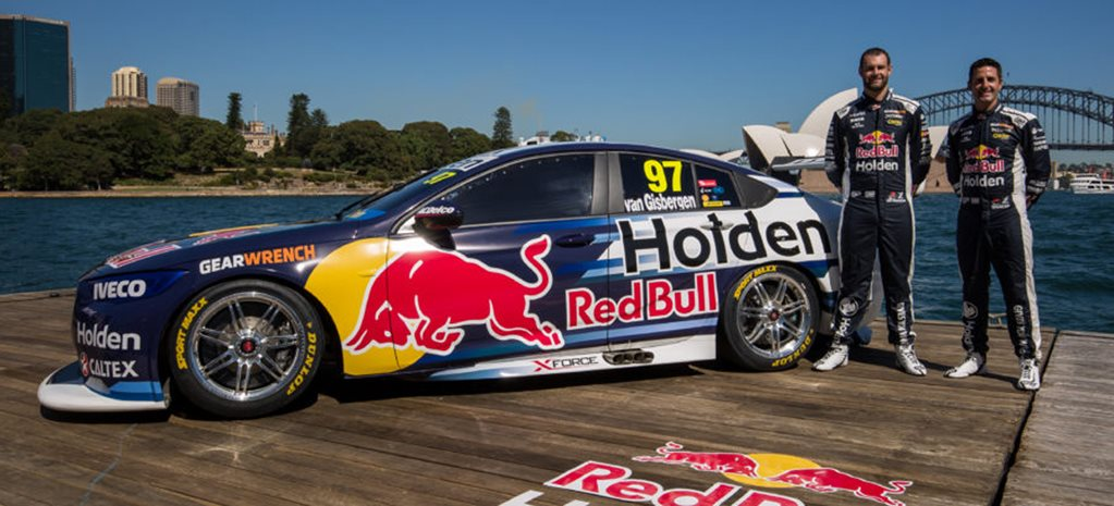 2018 Supercars Commodore Redbull wide